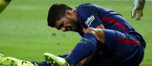 Luis Suarez sera absent 4 semaines - pressafrik.com