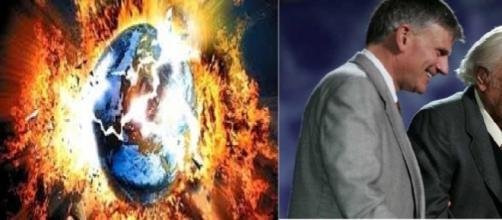 Os evangelista Billy Graham e Franklin Graham