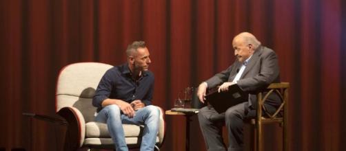 Pietro Maso durante L'intervista di Maurizio Costanzo