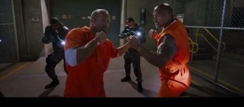 Two supporting characters from the 'Fast and Furious' series get to star in a spinoff. [Image Credit: Furious Trailer/YouTube]