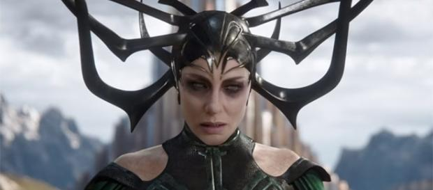 "Cate Blanchett plays the first ever female villain in the MCU in ""Thor: Ragnarok."" (Marvel Entertainment/YouTube)"