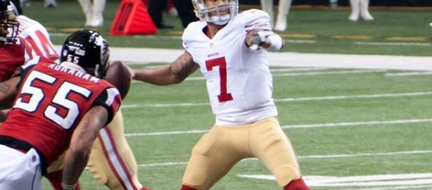 Colin Kaepernick was never invited to try out for the Titans/ photo by Football Schedule/ Flickr