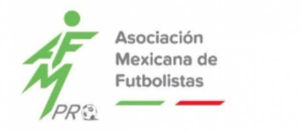 El logo oficial de la Asociación Mexicana de Futbolistas