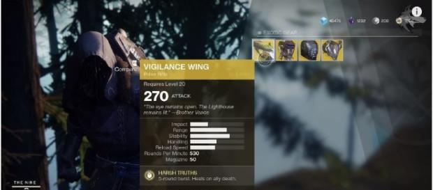 Exotic merchant Xur is back in 'Destiny 2'; Location and offered items revealed - (via YouTube/xHOUNDISHx screencap)