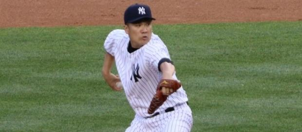Masahiro Tanaka takes the mound Sunday in the Yankees win-or-go-home Game 3 against the Indians. Image Source: Wikimedia Commons