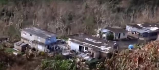 Puerto Rico damage caused from Hurricane Maria. (Image from CBS This Morning/YouTube)