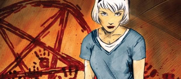 Sabrina from the comic series 'Chilling Adventures of Sabrina'/Photo used with permission via Archie Comics