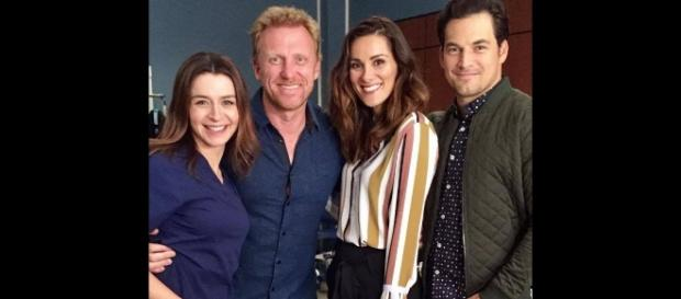 "Stefania Spampinato joins ""Grey's Anatomy"" Season 14. (Image Credit - USA Express/YouTube)"