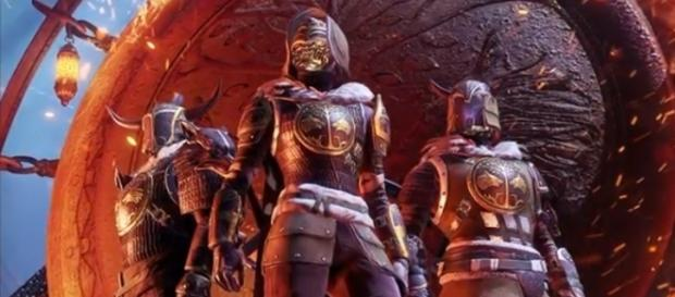 The Iron Banner armor sets for the Titan, Hunter, and Warlock - (Image Credit: MoreConsole/YouTube)