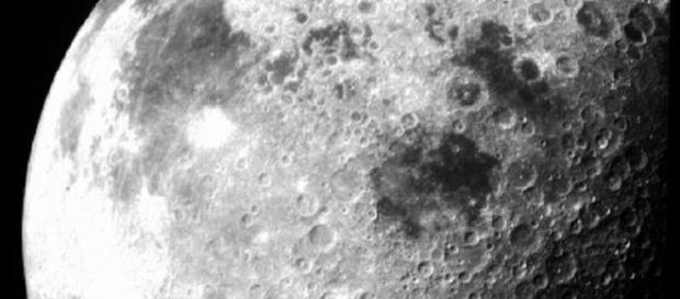 The moon as seen by Apollo 12 (image courtesy of NASA)