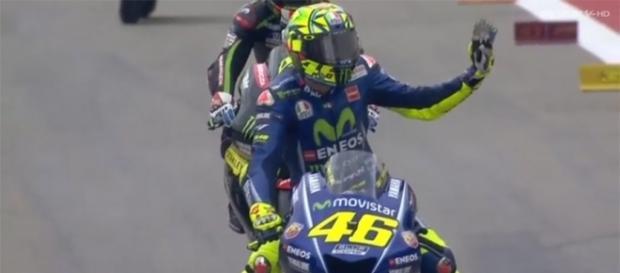 Valentino Rossi, pilota di MotoGP