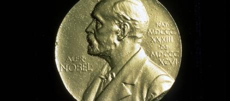 Front face of Nobel Peace Prize medal - Freestock.biz