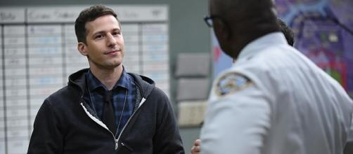 "Andy Samberg plays Det. Jake Peralta on the Golden Globe Award-winning ""Brooklyn Nine-Nine."" (FOX/SpoilerTV)"