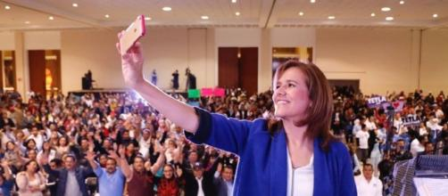 Foto del perfil Facebook de la ex primera dama Margarita Zavala