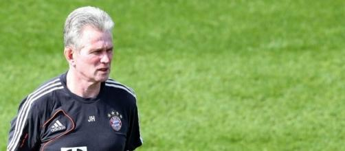 German club Bayern Munich's coach Jupp Heynckes during his team's training session at the ASPIRE Academy in Doha. [Image Jupp Heynckes | Flickr]