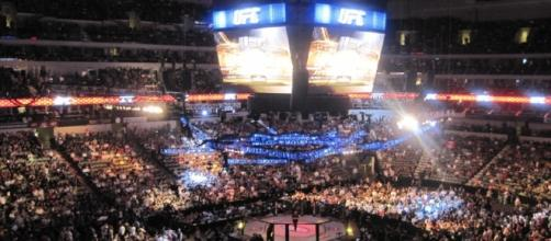 UFC 103 Franklin vs. Belfort - American Airlines Center - Dallas, Texas September 2009. Image- Mark Richardson | Wikipedia -