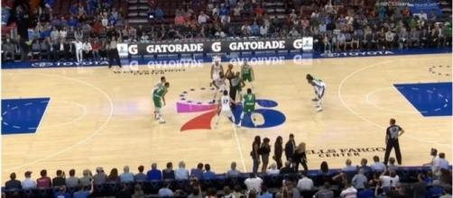 NBA Preseason: 76ers lose at home to Celtics, Washington wins against New York - Image via Youtube channel: NBA