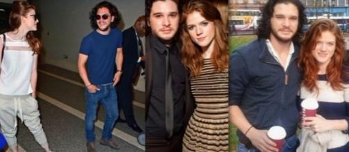 Kit Harington and Rose Leslie might get married soon. [Image Credit: Ygrose/Youtube]