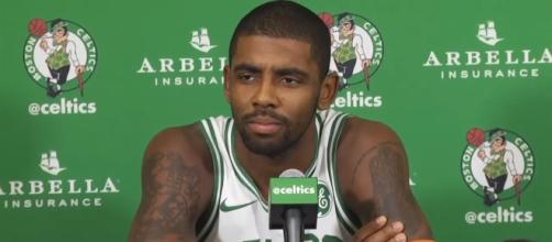 Kyrie Irving is starting to find his rhythm with the Boston Celtics. (Image Credit: ESPN/YouTube)