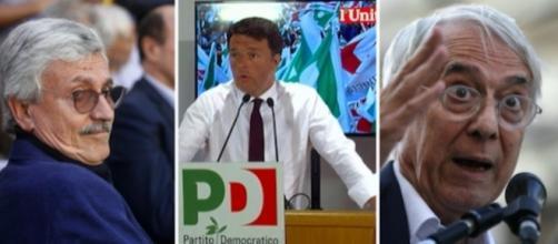 Matteo Renzi pensa a una coalizione di centrosinistra senza Massimo D'Alema