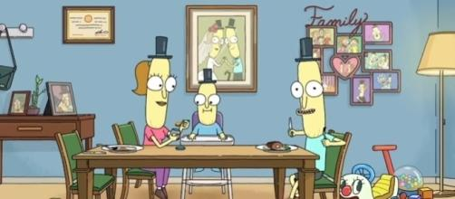 """Mr. Puppybutthole hints at the release of """"Rick and Morty"""" Season 4 in the Season 3 finale end-credits scene. (Photo:YouTube/Rick and Morty)"""