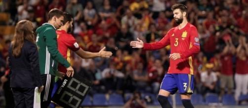 Piqué sifflé puis applaudi lors d'Espagne-Albanie