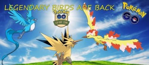 'Pokemon Go' Legendary Birds makes a surprising come back! [Image Credit: YiRuS/YouTube]
