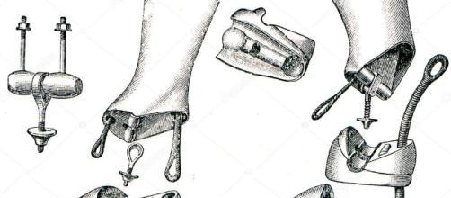 Protesi - gambe artificiali con giunti semplici e doppi — Foto ... - depositphotos.com