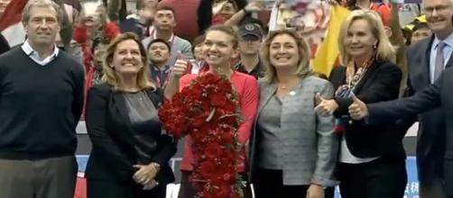 Simona Halep is the new world No. 1 of the WTA circuit/ Photo: WTA official channel | YouTube