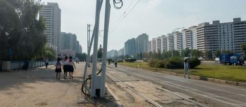Street in Pyongyang, North Korea (Image credit - Mario Micklisch – Wikimedia Commons)