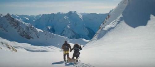 'The Mountain Between Us' opened in theaters on October 6, 2017 [Image:YouTube Movie/YouTube screenshot]