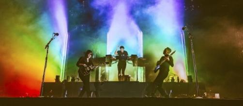 The xx at Austin City Limits [Image via Roger Ho/ACL]