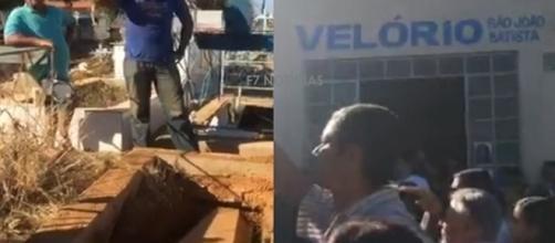 Vigia que ateou fogo em creche é enterrado sem velório nem presença de parentes