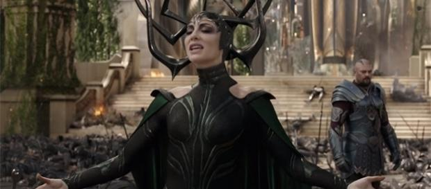 "Academy Award-winning actress Cate Blanchett plays Hela in the upcoming ""Thor: Ragnarok."" (Marvel Entertainment/YouTube)"