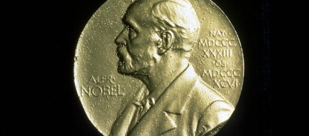 Front face of Nobel Peace Prize medal - Freestock.biz