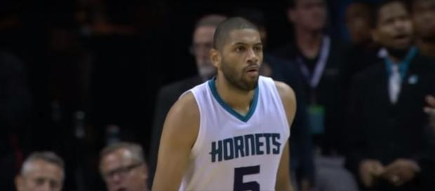 Hornets guard Nicolas Batum said that some French fans celebrated his injury -- NBA via YouTube