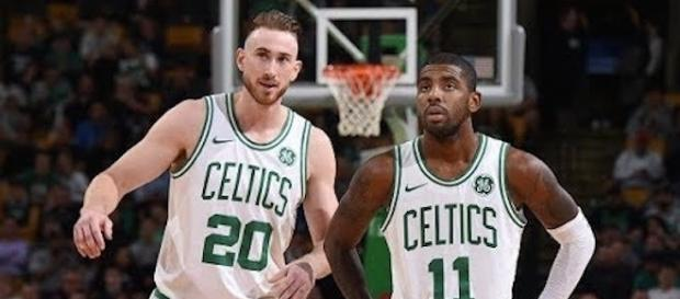 Kyrie Irving scored 21 points as the Boston Celtics defeated the Philadelphia 76ers on Friday night. [Image Credit: NBA/YouTube]