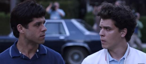 Lyle and Erik Menendez are the subject of Law & Order's new spin off / Photo via YouTube