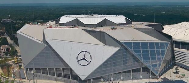 Mercedes-Benz stadium, Atlanta. [Image Credit: MLS/Wikimedia Commons]