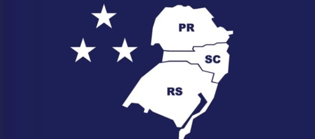 O Brasil poderá ficar menor, pois os estados do sul querem ficar independentes