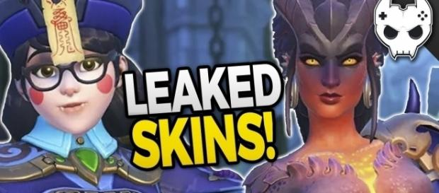 'Overwatch' Zenyata, Mei, Symmetra, and Reaper Halloween Skins leaked!(BlameTheController/YouTube Screenshot)