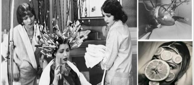Procedimentos feitos para embelezamento das mulheres no passado