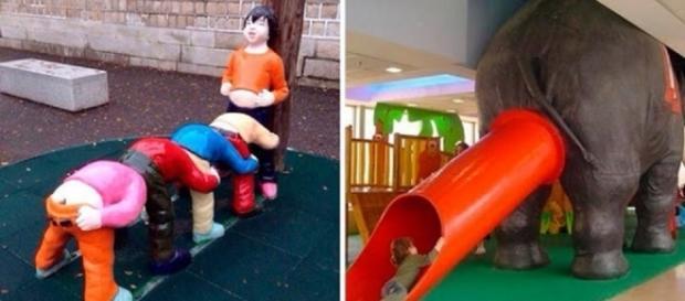 Será que você deixaria seu filho brincar em algum desses 14 brinquedos bizarros infantis?