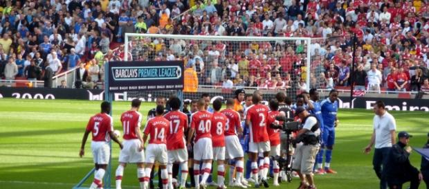 The Gunners are getting ready for a game against Chelsea in a past season. PHOTO/Flickr Credit: Wonk