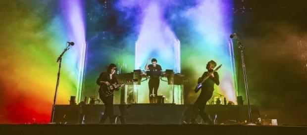 The xx at Austin City Limits [Image via Roger Ho/ACL]