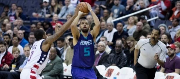 Versatile guard Nicolas Batum will miss the beginning of the season due to injury. Image Source: Flickr | Keith Allison