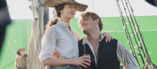 As Claire and Jamie reunite, will they find love again?   Image Credit: Entertainment Tonight   YouTube