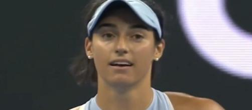 Caroline Garcia won the Premier Mandatory event in Beijing, China/ Photo: screenshot via WTA channel on YouTube