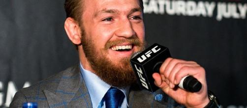 Conor McGregor return [Image by Andrius Petrucenia / Wikimedia Commons]
