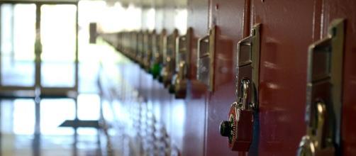 High School lockers [Image Credit: Brett Levin/Flickr]